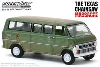 "Ford Club Wagon ""The Texas Chain Saw Massacre"" (1972) Greenlight 1:64"