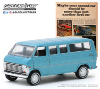 "Ford Club Wagon ""Vintage Ad Cars Series 2"" (1968) Greenlight 1/64"