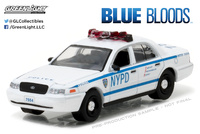 "Ford Crown Victoria NYPD ""Blue Bloods"" (2010) Greenlight 1/64"