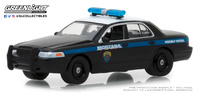 "Ford Crown Victoria ""Patrulla interceptora de Montana"" (2001) Greenlight 1/64"