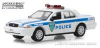 """Ford Crown Victoria """"Policía Portuaria de Nueva York y Nueva Yersey"""" (2003) Greenlight 1/64"""