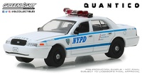 "Ford Crown Victoria Policía ""Quántico"" (2003) Greenlight 1/64"