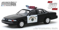 "Ford Crown Victoria Police pelicula 60 segundos (2000)"" Greenlight 1/64"