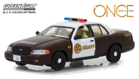 "Ford Crown Victoria Policia ""Érase una vez"" (2005) Greenlight 1/43"
