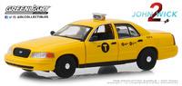 "Ford Crown Victoria Taxi ""John Wick 2"" (2008) Greenlight 1:43"