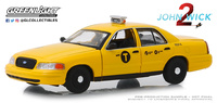 "Ford Crown Victoria Taxi ""John Wick 2"" (2008) Greenlight 1/43"