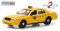 "Ford Crown Victoria Taxi ""John Wick 2"" (2008) Greenlight 1/64"