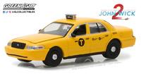 "Ford Crown Victoria Taxi ""John Wick 2"" (2008) Greenlight 1/64"