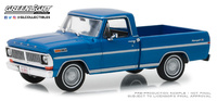 Ford F-100 1970 Acapulco Blue Metallic Greenlight 86317 scale 1:43