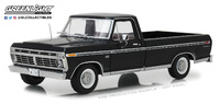 Ford F-100 Negro (1973) Greenlight 1/18