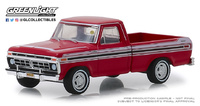 Ford F-100 Rojo (1977) Greenlight 1/64