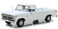 Ford F-100 blanco (1973) Greenlight 1/18