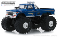 "Ford F-250 Monster Truck (1974) 66"" pulgadas Greenlight 1/43"