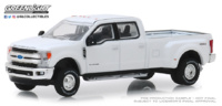 Ford F-350 Lariat Blanco (2018) Greenlight 1/64
