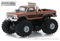 "Ford F-350 Monster Truck ""BFT"" (1978) Greenlight 1/64"