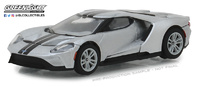 Ford GT con rayas negras (2017) Greenlight 1/64