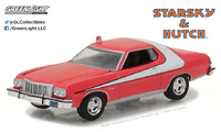 "Ford Gran Torino ""Starsky and Hutch"" (1976) Greenlight 1/64"