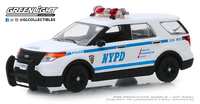 "Ford Interceptor Utiliy Policía de ""Nueva york"" (2013) Greenlight 1/43"