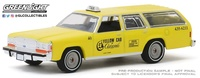 """Ford LTD Crown Victoria Wagon - Amarillo """"Coronado"""" California (1988) Greenlight 1/64"""