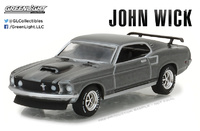 "Ford Mustang Boss 429 ""John Wick"" (1969) Greenlight 1/64"