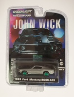 "Ford Mustang Boss 429 ""John Wick"" (1969) Greenmachine 1/64"