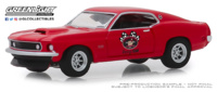 "Ford Mustang Boss 429 Racing ""Patrocinado"" (1969) Greenlight 1/64"