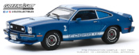 Ford Mustang Cobra II - Azul (1976) Greenlight 1/43