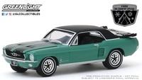 """Ford Mustang """"Especial esquí"""" Loveland Green (1967) Greenlight 1/64"""
