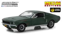 """Ford Mustang GT Fastback """"Bullitt sin restaurar"""" Kissimmee 2020 Greenlight 1/18"""