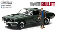 "Ford Mustang GT Fastback con figura ""Bullit"" (1968) Greenlight 1/43"