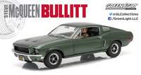 Ford Mustang GT Fastback with Steve McQueen Figure GreenLight 12938 scale 1/18
