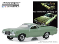 "Ford Ranchero ""New Ford Ranchero…The Pickup Car! (1972) Greenlight 1/64"