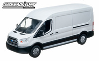 "Ford Transit (V363) ""Oxford White"" (2015) Greenlight 1:43"