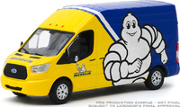 "Ford Transit LWB ""Neumáticos Michelin"" (2019) Greenlight 1:43"