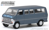 Furgoneta Ford Club Wagon - Global Airlines 1969 Greenlight 1/64