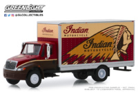 "International Durastar Box Van ""Indian Motorcycle"" (2013) Greenlight 1/64"