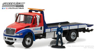 "International Durastar Flatbed Plataforma ""BF GOODRICH"" con figura (2013) Greenlight 1/64"