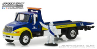 "International Durastar Plataforma ""Servicio Michelin"" con Figura Bibendum (2013) Greenlight 1/64"