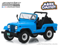 "Jeep CJ-5 ""Mork & Mindy"" (1978-82) Greenlight 1/43"
