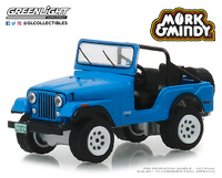 "Jeep CJ-5 ""Mork & Mindy"" (1978-82) Greenlight 1/64"