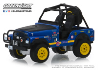 "Jeep CJ-5 nº 44 ""Baja Cragar"" (1971) Greenlight 1/64"