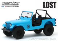 "Jeep CJ-7 ""Dharma"" Perdidos (1977) Greenlight 1/18"