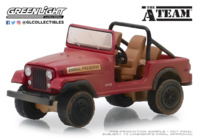 "Jeep CJ-7 ""El equipo A"" (1983) Greenlight 1/64"
