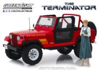 "Jeep CJ-7 Renegade ""Terminator"" Sarah Connor's (1983) Greenlight 1/18"