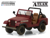 "Jeep CJ-7 ""The A-Team"" (1983) Greenlight 1:43"