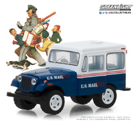 Jeep DJ-5 U.S. Mail Delivery (1971) Ed. Limited Norwan Rockwell - Greenlight 1:64