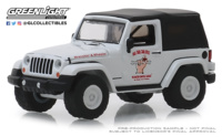 "Jeep Wrangler ""Aventuras en la carretera"" (2012) Greenlight 1/64"