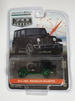 "Jeep Wrangler Unlimited ""75th Anniversary"" (2016) Greenmachine 1/64"