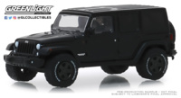 "Jeep Wrangler Unlimited ""Black Bandit series 22"" (2017) Greenlight 1/64"