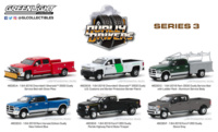 Lote Dually Drivers Series 3 Greenlight 1/64